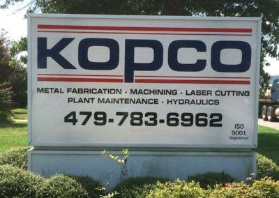 pac printers, post and panel signs, yard signs for businesses, large printed signs for businesses