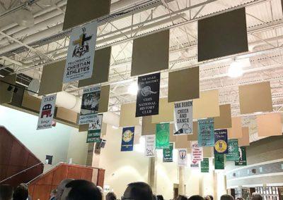 pac printers, indoor hanging banners, custom printed, digitally printed, affordable indoor hanging banners